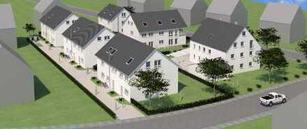 Neubau einer Doppelhaushälfte mit Hobbyraum, Garten, Tiefgarage in Bergheim - EH 55 -schlüsselfertig