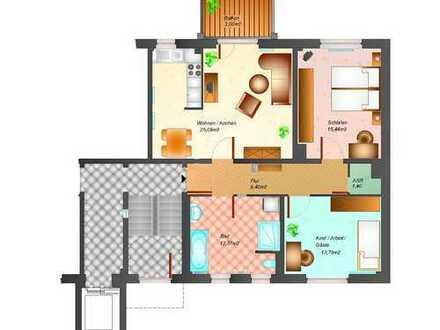 3 Raumwohnung in neuer Top Wohnanalage in Riesa