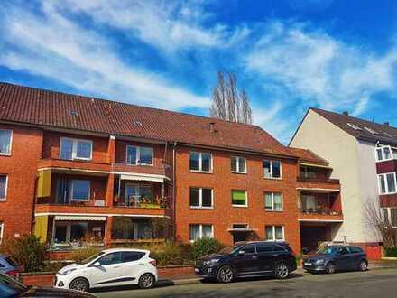 SÜDSTADT Krisensicher investieren: 5-Zi-Wohnung mit Balkon vermietet, Maschsee-Nähe | PROVISIONSFREI
