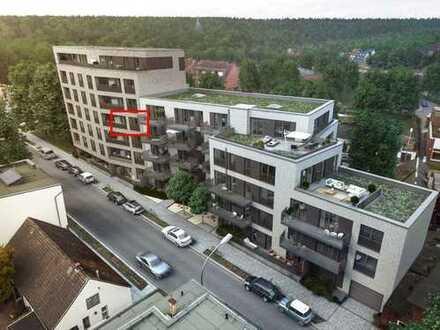 Neubau Erstbezug: 2-Zimmer-Wohnung mit Einbauküche und Süd-Loggia