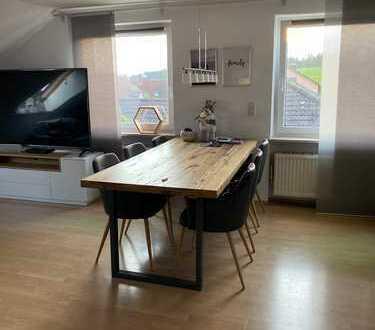 Schöne, gepflegte, provisionsfreie 3-Zimmer-Dachgeschosswohnung zur Miete in Diedorf