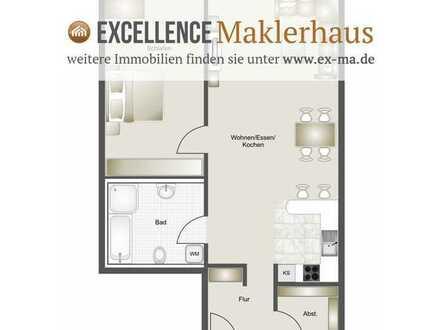 Erstbezug - schöne 2 Zimmer-Wohnung, 96,03 m² mit EBK