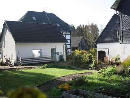 Schönes kleines freistehendes Haus im Grünen mit viel Potential