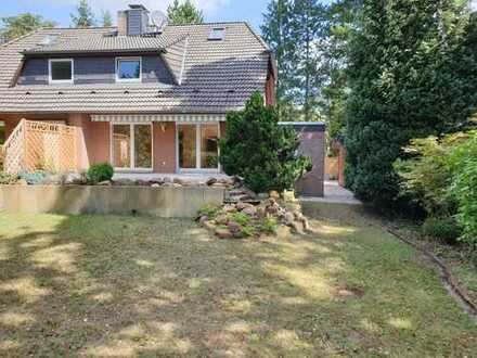 Willkommen im Grünen. Ihre Doppelhaushälfte in ruhiger Lage in Bissendorf-Wietze
