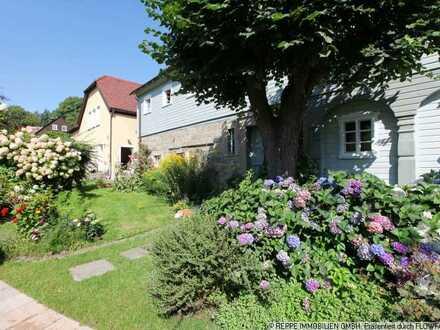 Idyllisch gelegene 4-Raum Wohnung mit Balkon und Garten in Schirgiswalde-Kirschau