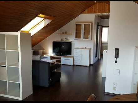 Gemütliche 2-Zimmer-DG-Wohnung mit herrlichem Weitblick