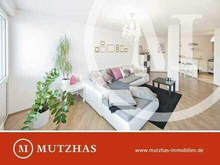 Individuelle, ruhige 2-Zimmer-Whg. mit beeindruckendem Schnitt, in grüner Umgebung