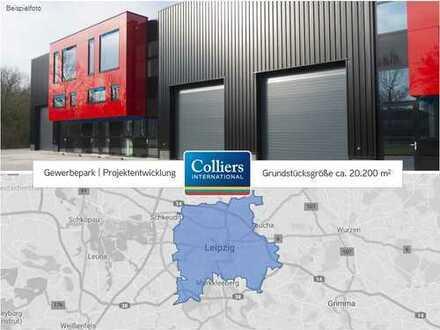 Gewerbepark Projektentwicklung | ca. 20.200 m² Grundstück | Leipzig West