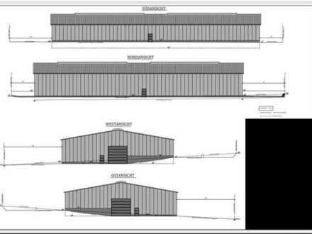 "Direkt an der BAB A70 Nähe A7/A71! Neue Halle in Werneck Gewerbegebiet ""An der A70"" zu vermieten."