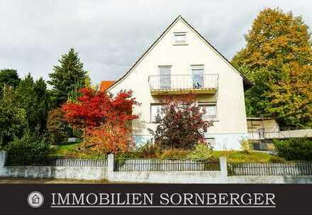 Großzügiges Zweifamilienhaus mit Garten, Terrasse,Garage & Carport in Siegelbach *RESERVIERT*