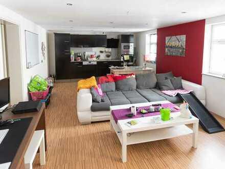 3-Zimmer-Wohnung mit großem Balkon im Zentrum Coburgs