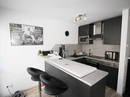 Vollmöblierte neuwertige 1,5-Zimmer-Wohnung mit EBK und Innenhofstellplatz in der Fürther Südstadt.