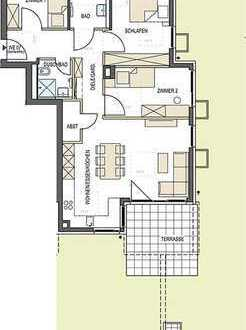 Sonnige 4-Zimmer Eckwohnung mit großem Garten