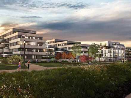 Hier steht Wohlfühlen ganz im Mittelpunkt: Hochwertige 3-Zimmer-Wohnung mit Balkon am Rhein