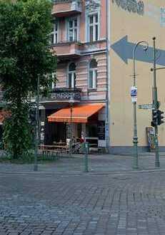 Spitzenlage, kleines Cafe oder Bistro, ReichenbergerEcke Glogauerstr. mit UG und Außenbereich