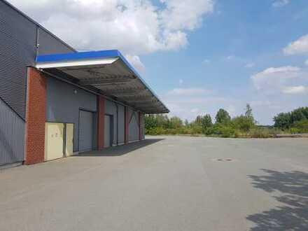 beheizbare Hallenfläche im Gewerbepark Crimmitschau