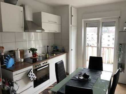 Helle 1 Zimmerwohnung mit Balkon