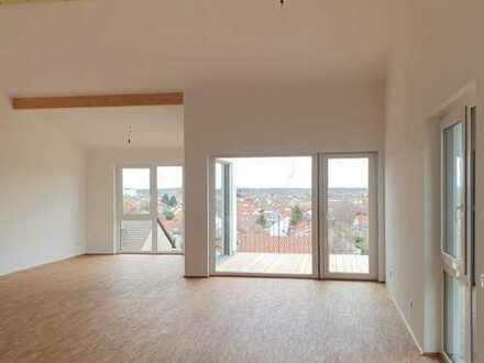 Bezugsfertige Maisonette-Wohnung am Kirchberg