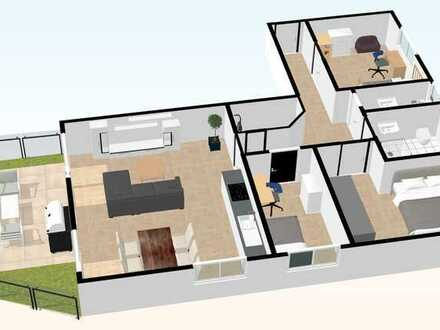 Whg. - 01- im EG mit 108,11 m²