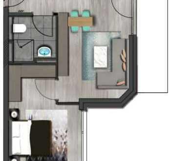 Neubau Wohnung in Herzen Dietzenbach gegenüber von Kreisverwaltung
