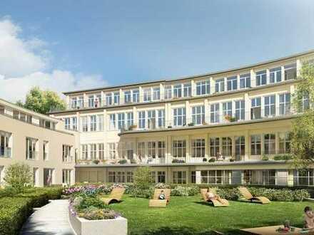 """Wohnen im Speisehaus der Nationen in """"G.O.L.D."""" - Exclusive 3-Zimmer-Wohnung mit großer Terrasse"""
