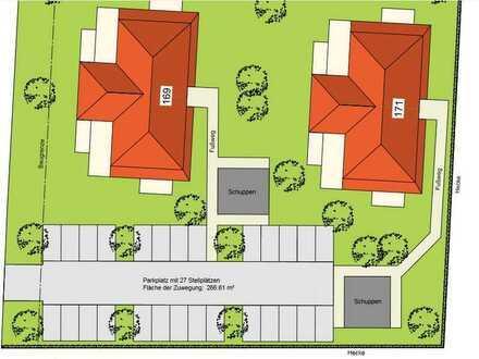 Hochwertige 3-Zimmer-Wohnung in KfW 40 Standard