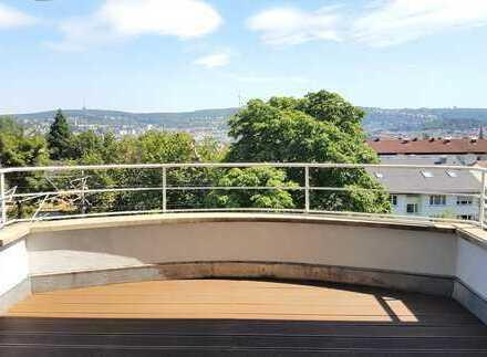 Traumhafte Aussichtswohnung in TOP Lage! **3 Zimmer, EBK, Balkon UND Garten**