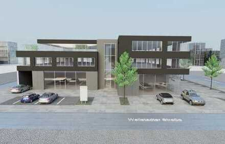 NEUBAU: Projektierte Büro-/Arzt-/Ausstellungsflächen in verkehrsgünstiger Lage