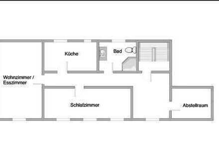 Schöne, geräumige zwei Zimmer Wohnung im OT von Goldbach