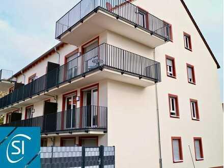 Wohnen im Herzen der Stadt... lichtdurchflutete 3 ZKB-Neubau-Mietwohnung mit sonnigen Balkon