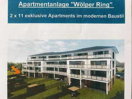Exklusive seniorengerechte EG-Wohnung incl. Terrasse und Gartenanteil in bester Lage (Bj. 2018)