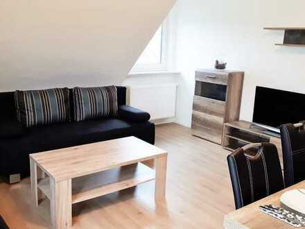 free 23.02.: furnished 4-room apartment with wifi, 3 bedrooms, living room, kitchen, bathroom, Tv