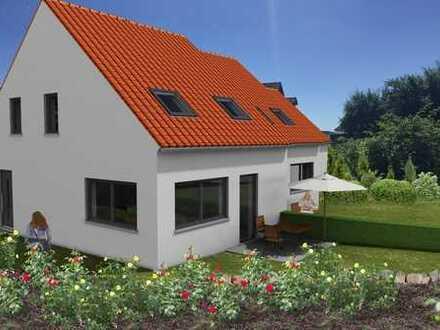 Ein Doppelhaus mit Wohlfühlfaktor in Woffenbach, Flurstraße 23 b