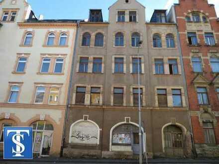 38/19 - unsaniertes Wohn- und Geschäftshaus in Plauen (Hammervorstadt)