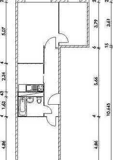 Kleine 3-Raum-Whg., 01. OG, WBS (auch für 2 Räume) erforderlich