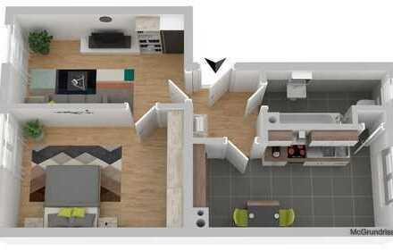 2 Zimmer-Wohnung in begehrter Citylage!