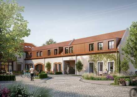 STADTGUT Leipzig - modernes Neubau-Einfamilienhaus in historisch-denkmalgesch. 3-Seiten-Hof-Ensemble