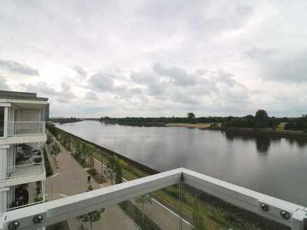 Traumhafte Aussicht! Penthouse an der Weser