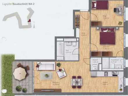 Neuwertige 3-Zimmer-Wohnung mit Balkon und EBK in Berg am Laim, München
