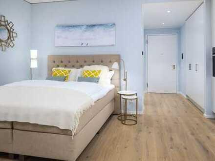 ab SOFORT!Fully furnished Apartment mit Balkon und EBK /Luxusbad in HafenCity!
