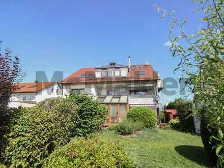 Maisonette-Wohnung in Topzustand mit Wintergarten und Balkon