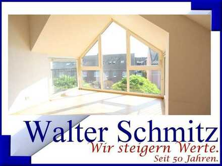 Große helle Dachgeschoss-Wohnung in Kaldenkirchen.