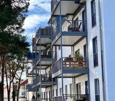 Balkon und ruhiger Innenhof in zentraler Lage in Babelsberg