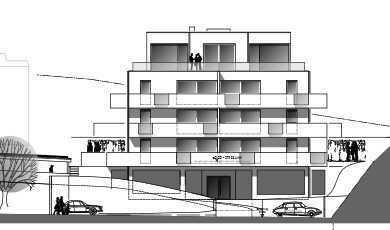 Erstbezug: helle 1-und 2-Zimmer-Wohnungen mit Balkon/Terrasse in Schwandorf
