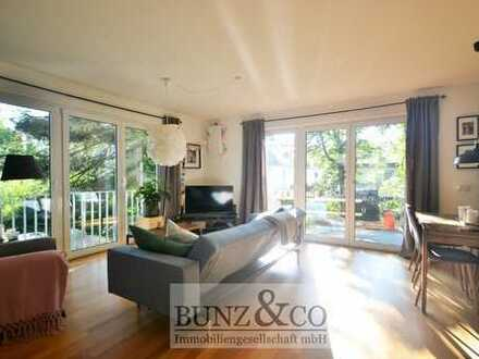 Exklusiv ausgestattete Wohnung mit großem West-Balkon