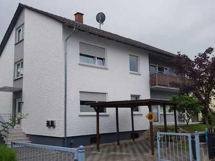 Gut geschnittene 3-Zimmerwohnung mit zwei Terrassen und Gartenanteil