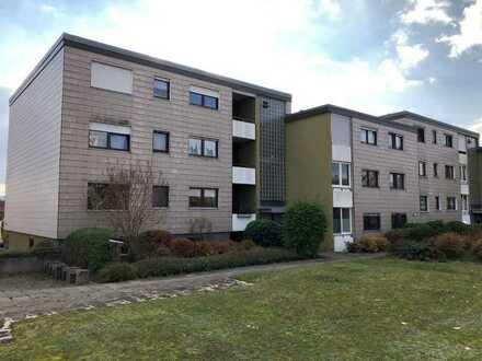 vermietete Gartengeschosswohnung mit Terrasse als Kapitalanlage in Steinheim zu verkaufen.