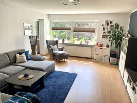 Attraktive 3-Raum-Wohnung mit Balkon und Einbauküche in bevorzugter Lage