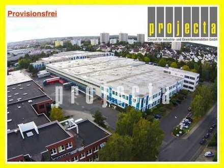 PROVISIONSFREI: 2.370 m² Lagerhalle | Rampentore | 8,5 m UKB Hallenhöhe | mit Büroanteil