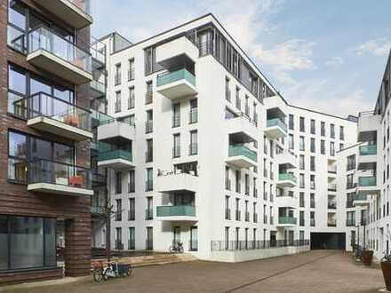 Wohnen in den Wallhöfen: Attraktive 3-Zimmer Wohnung mit Balkon in Neustadt, Hütten 95c 
